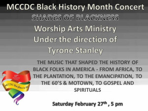 MCCDC Black History Feb. 2016