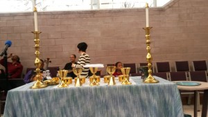 MCCDC Communion Table