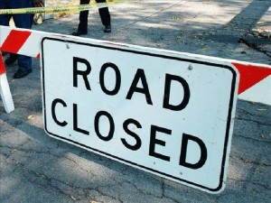 MCCDC Roadclosure