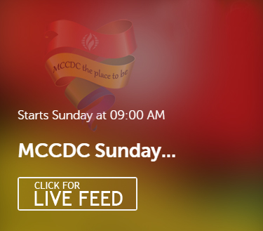 MCCDC LIVE VIDEO SERMONS