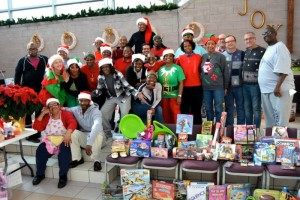 11TH ANNUAL TOY PARTY DECEMBER 12  10AM-12NOON AND 1PM-3PM