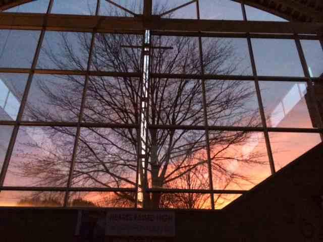 MCCDC at sunset