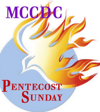 MCCDC Pentecost Sunday 2016